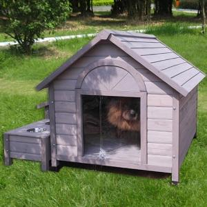 편백나무 cm 원목 식기 수납공간 하우스 실내 외 강아지 108X48X83cm 집