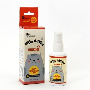 천연 국내산 마따따비 스트레스 해소 스프레이 60미리 다용도 고양이생활용품
