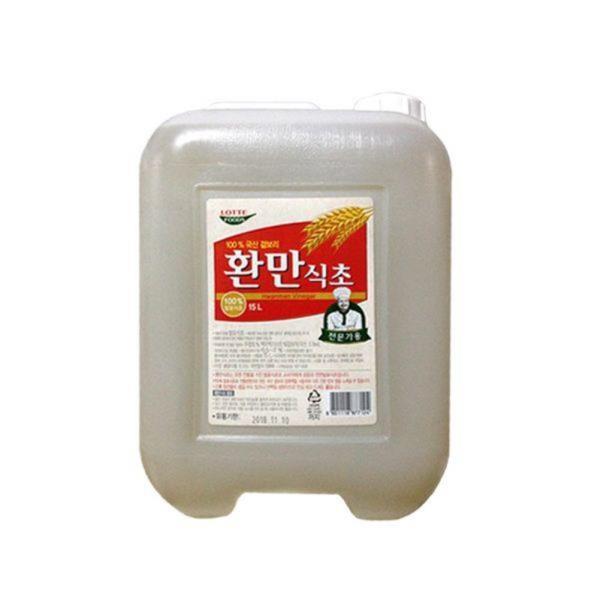 식자재 롯데푸드 환만 식초 15L