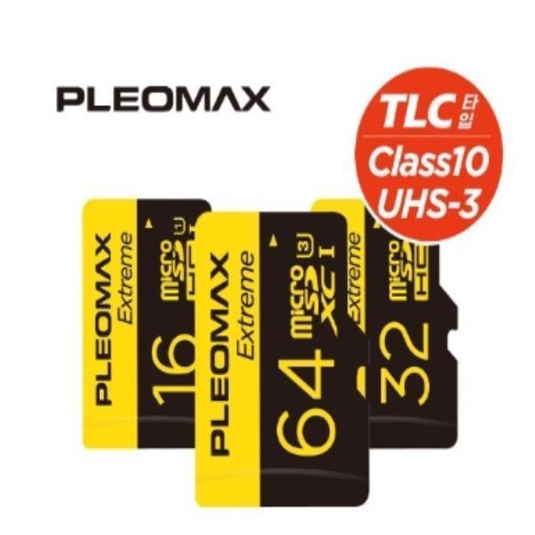 플레오맥스 TLC 메모리 카드 sd카드 휴대폰메모리 16G