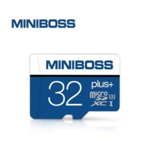 미니보스+ TLC메모리 카드 휴대폰메모리 32G SD카드