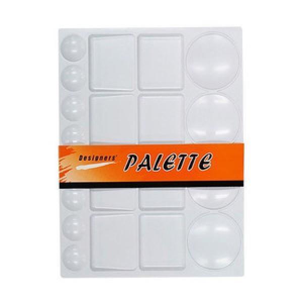 파렛트 488사각평판파렛트 대 붓 미술 보조용품 물감