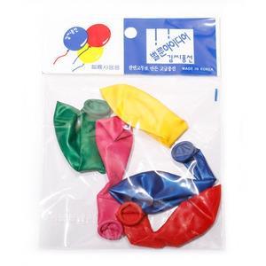라운드풍선 20세트 행사용품 풍선 행사 놀이
