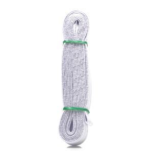 단추구멍 고무밴드 허리 고탄력 옷수선 백색 5묶음