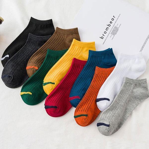 사계절 여성 학생 패션 코디 발목 양말 10종 세트
