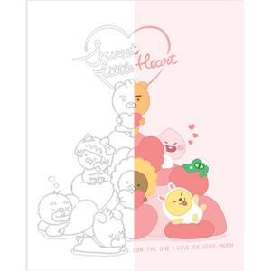 DIY 그리기 페인팅 리틀프렌즈 스위트하트-핑크 40X50
