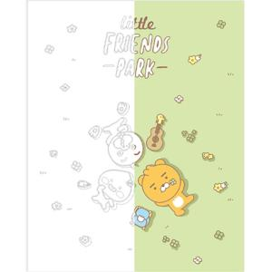 DIY 그리기 페인팅 리틀프렌즈 파크-그린 40X50