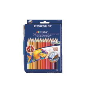 스테들러 수채 색연필 144 10ND36 36색 세트 /1개입
