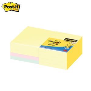 3M 포스트잇 알뜰팩 팝업 리필 KR33010A 76mmx76mm