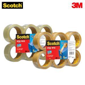 3M 스카치 강력 포장용 테이프 리필 3615R6 48mm