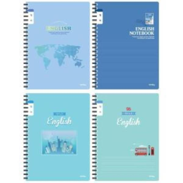 초등학생 남아 스프링 영어 노트 좁은칸 영어공책