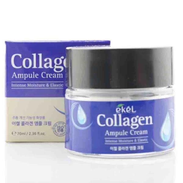 콜라겐 촉촉한피부 수분크림 탄력화장품 앰플크림 70ml 안티에이지크림