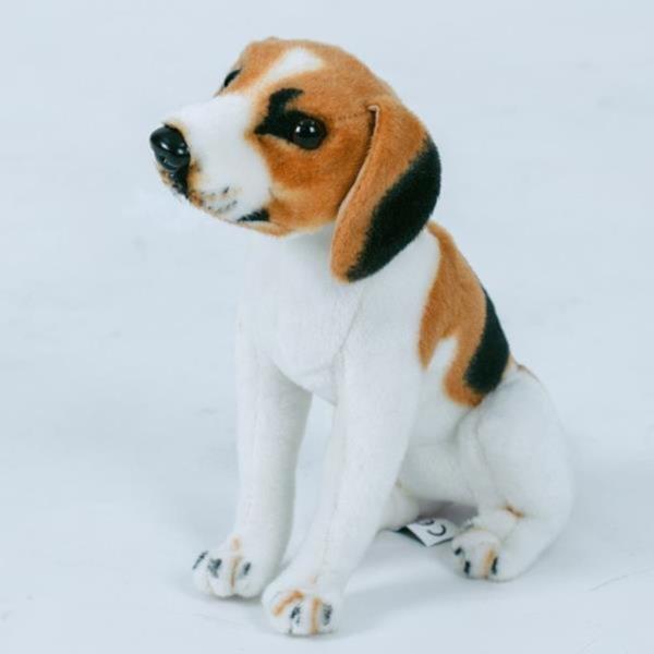 진짜같은리얼펫  강아지인형 비글 30cm