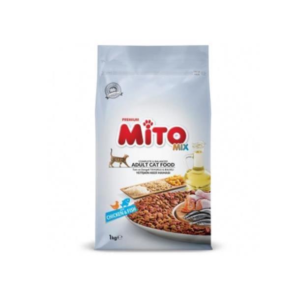 미토 프리미엄 고양이사료 치킨 피쉬 믹스 1kg