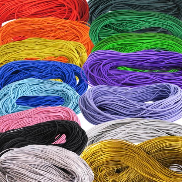 대용량 컬러둥근고무줄-가늘줄/굵은줄 28종☆