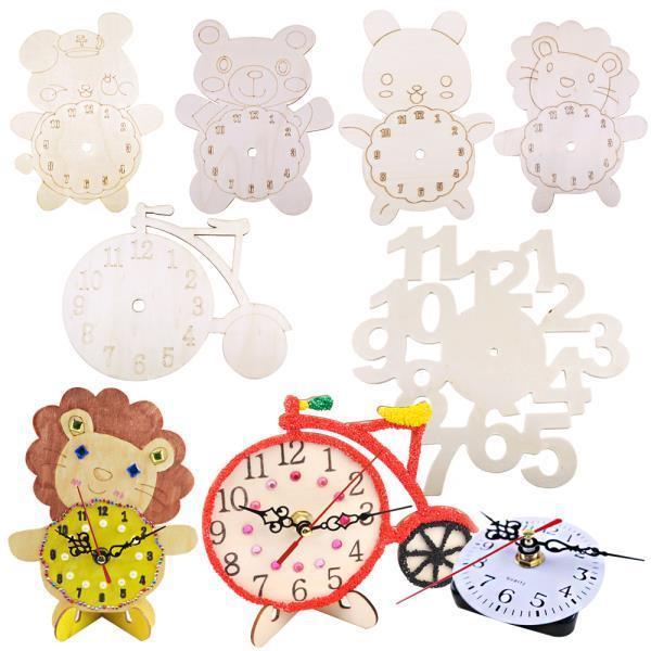 시계판만들기 나무시계판 그리기시계 만들기 공예