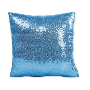 반짝 스팽글 쿠션커버 (블루)