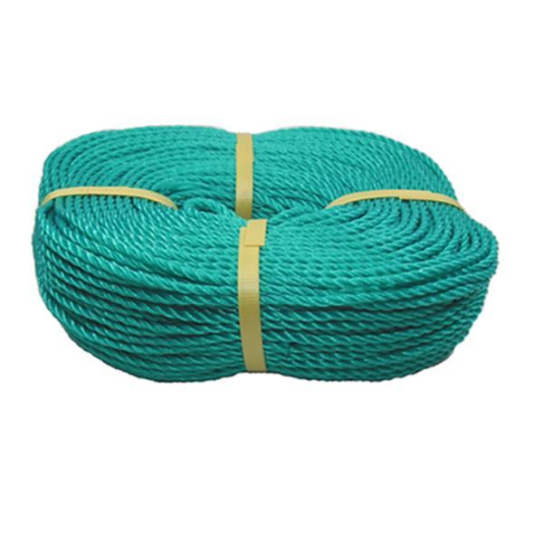 6mm PE로프 100M 산업용 빨래줄 현수막용 녹색