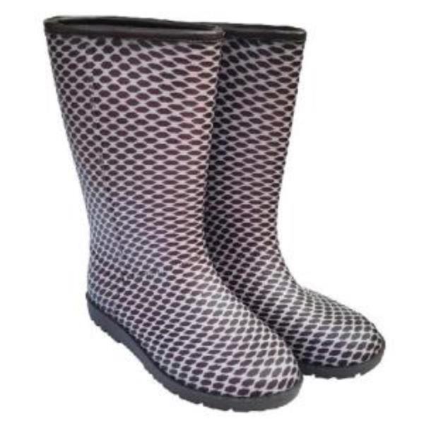 여성 겨울 방한 패션 부츠 털장화 작업화 국산 브라운
