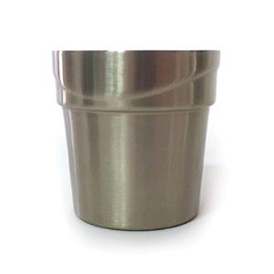 티타늄 이중 물결컵