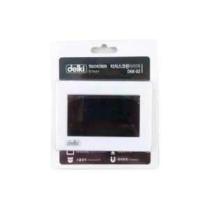 델키 터치 스크린 타이DKK-02 디지털타이타이머