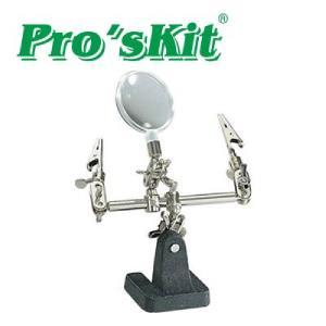 Prokit 납땜 보조기 인두 스탠드 확대경 기능