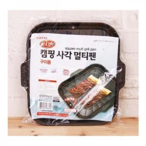 고기불판 사각팬 멀티팬 캠핑용 구이팬