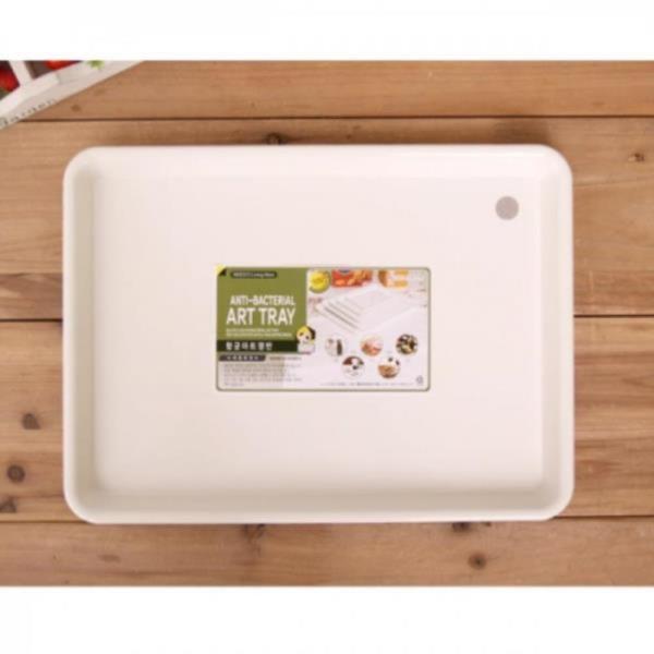 클린아트 쟁반 (22x16) 트레이 소품수납 간식 과일