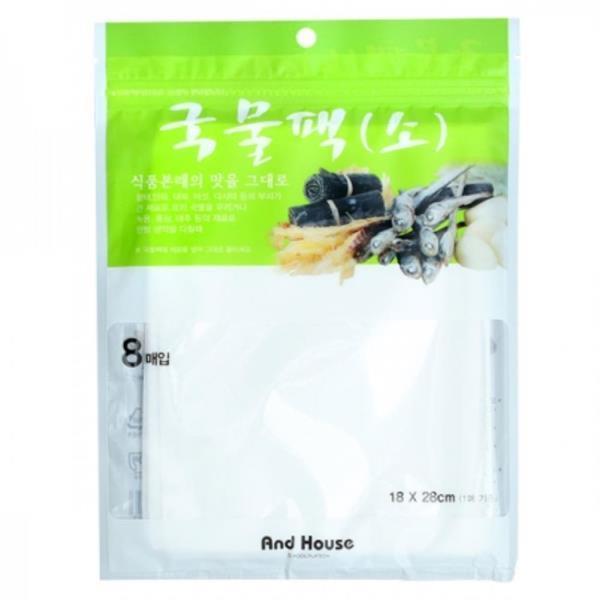앤하우스 국물팩 다시백 소 (18x28cm) 8매입