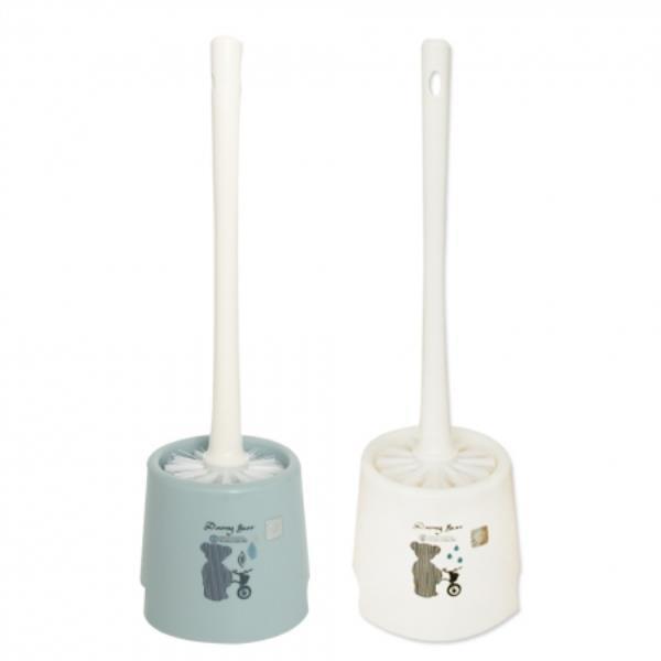 데니베어 원형 변기솔 화장실솔 욕실솔 1EA