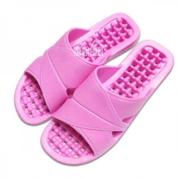 컬러풀 욕실화 핑크 1EA 다용도슬리퍼