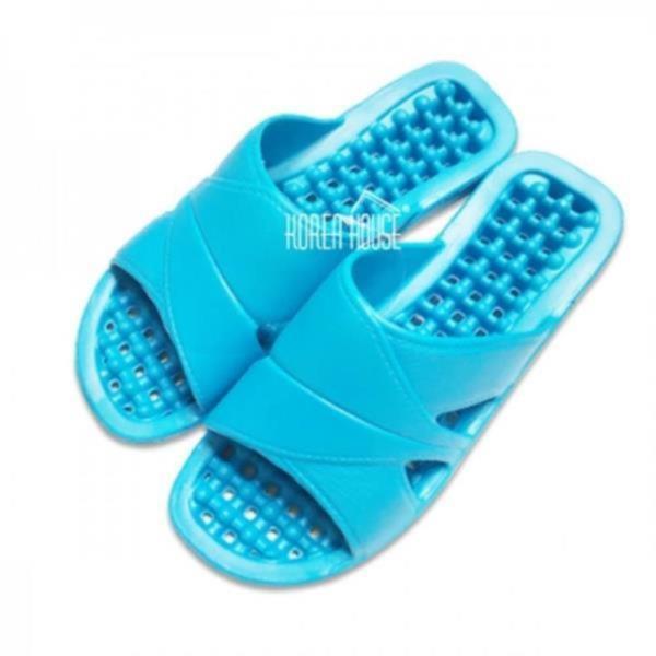 컬러풀 욕실화 블루 1EA 다용도슬리퍼