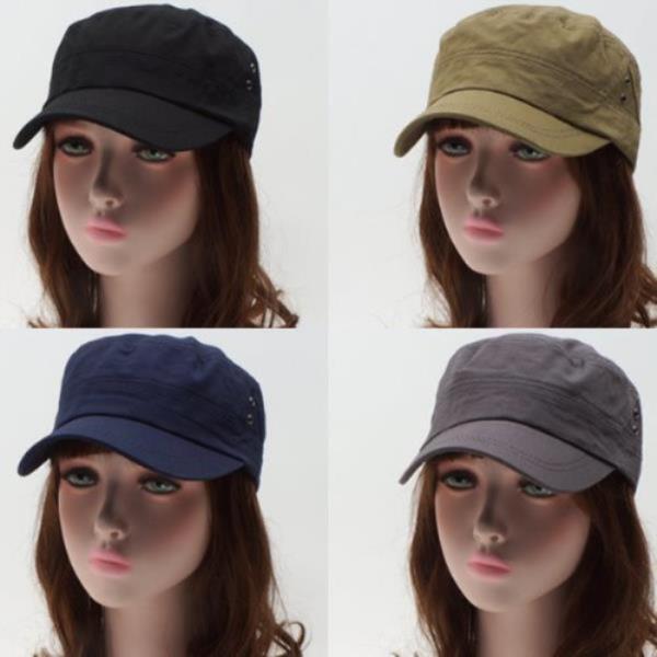 심플 면군모[S905-트라이앵글]모자