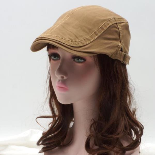 코튼 트윌 헌팅캡[S923-심플스티치]모자 도리우찌