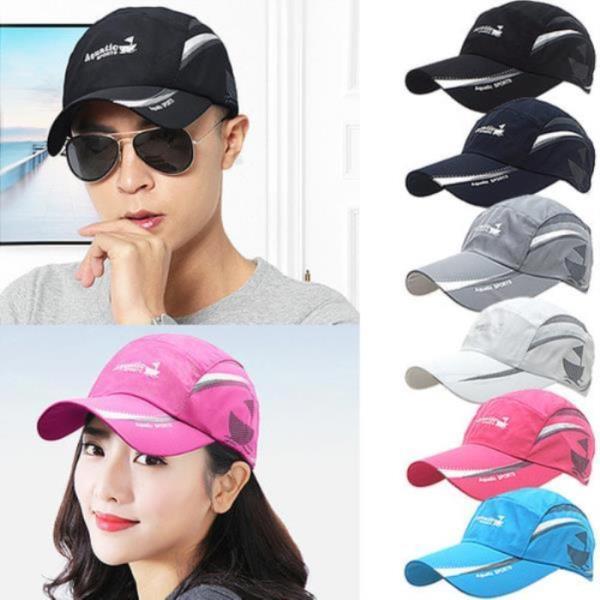 스포츠 레저캡[S953-아쿠아]모자 남여공용