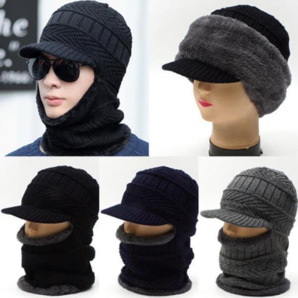 니트짜임 넥워머챙비니방한모자[S997-올인원]모자