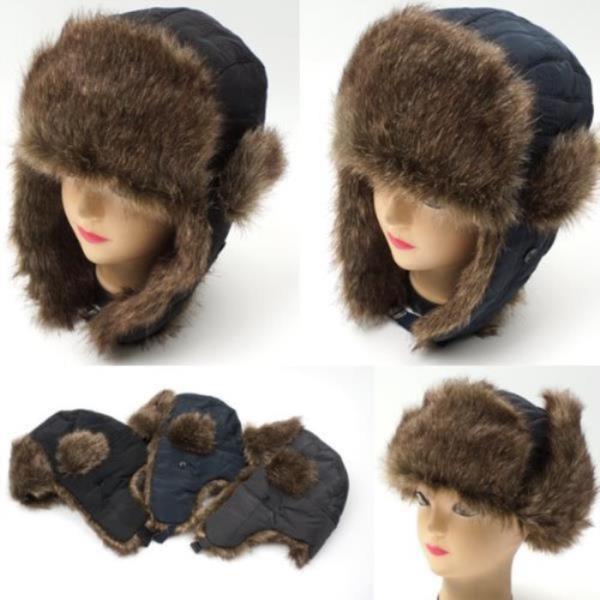 귀달이 방한모[W620뉴퀼팅]모자 털모자