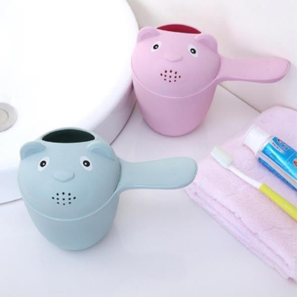 유아용 목욕 바가지(핑크)