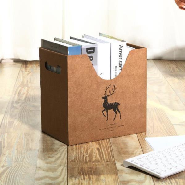 크라프트 사각 서류정리 박스
