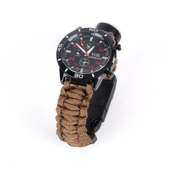 서바이벌 군인 시계(베이지)