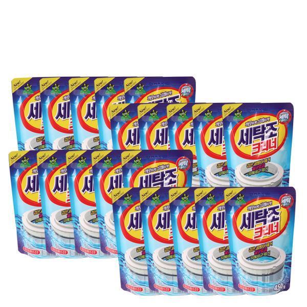 산도깨비 세탁조세정제 가루형 20개 드럼세탁기겸용
