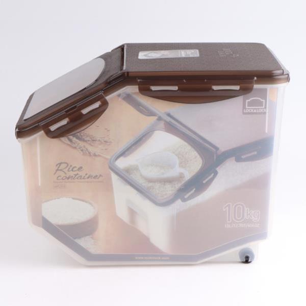 락앤락 밀폐용기 브라운쌀통 HPL510 12L 12.7QT
