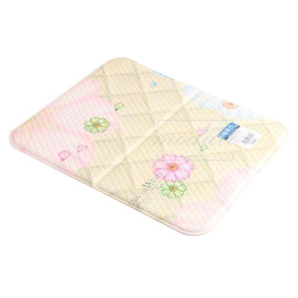 아이에스 페러스 꽃무늬 양면 미니발매트