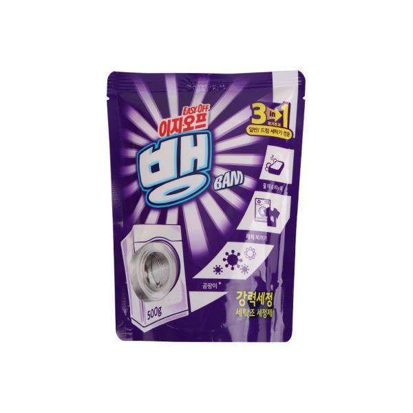 이지오프 뱅 드럼 세탁기청소 세탁조세정제 500g