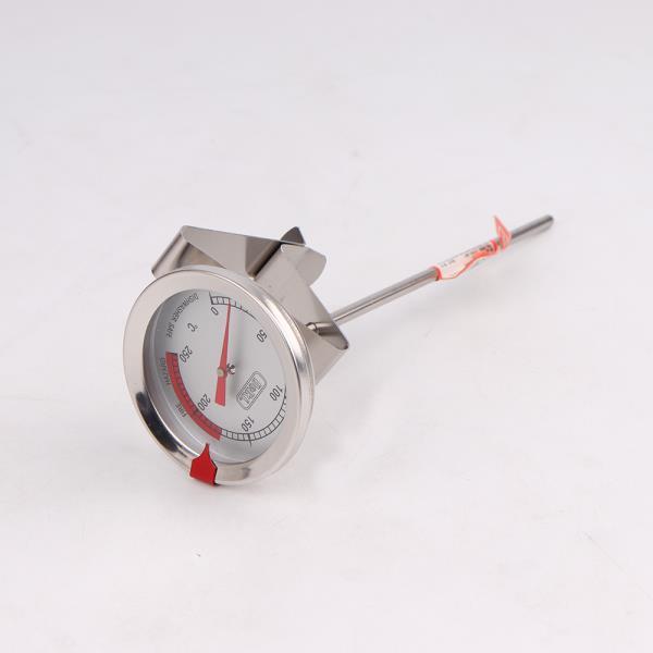 델키 스테인레스 조리 표시온도계 15cm 튀김요리