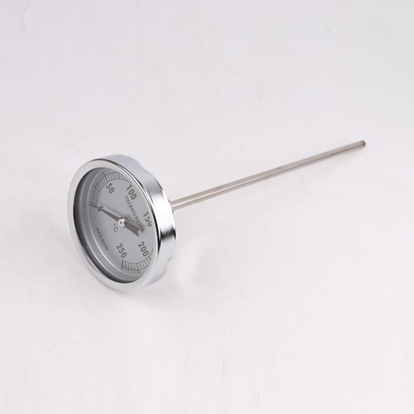 대원 고온 바이메탈  튀김온도계 26cm 조리용온도계