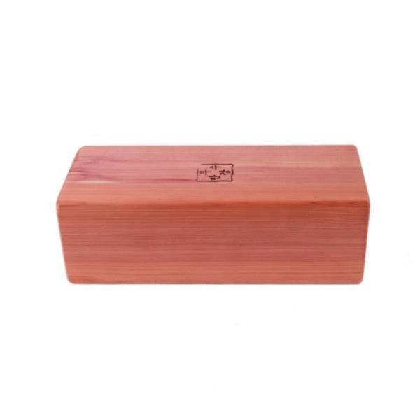 만수무강 향나무 목침24cm