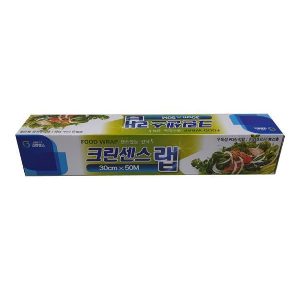 식품 보관 위생 비닐 랩 30cm 50m 식당 야채 생활용품
