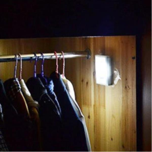실내 실외 인테리어 무선 벽면등 주마등 침실 창고