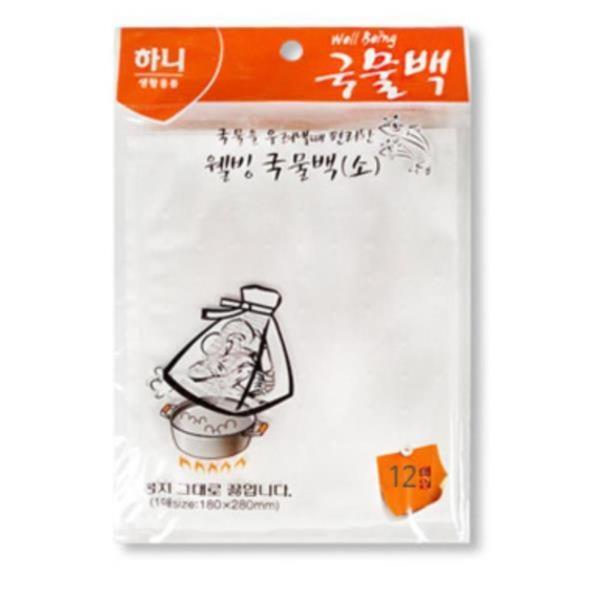 멸치 다시마 육수 국물 다용도 요리팩 조리기구 업소